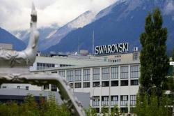 Swarowski factory tour