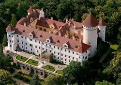 Dobris castle - Konopiste castle