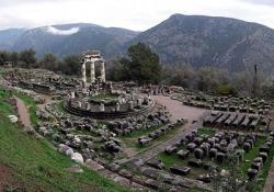 Castalia Spring - Delphi - Arachova - Hosios Lucas monastery