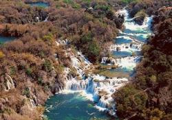 Sibenik - Krka National Park - waterfall Skradinski Buk - Skradin - Trogir