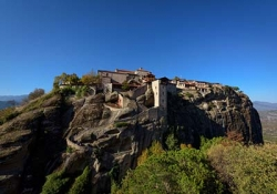 Winery of Metsovo - Great Meteoron monastery - Holy Monastery of Varlaam - Agios Stefanos monastery