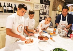 Pizza and Gelato making class