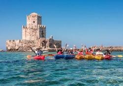 Pylos - Methoni - kayaking
