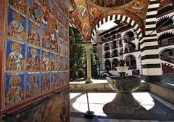 Stob's pyramids - Rila Monastery - cave of St. Ivan Rilski