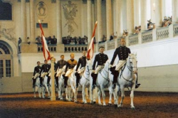 Sunday Performance at the Spanish Riding School